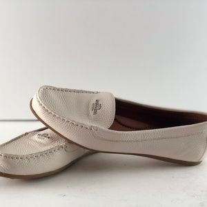 Coach Shoes - Amber Coach Pebble Leather Driving Loafer